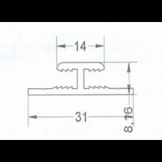Двутавр под компазит панель 4мм