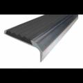 Алюминиевый порог 40х0-12 мм с открытым типом, 1.20 м