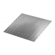 Лист рифленый (квинтет) алюминиевый 1,2x1200x3000