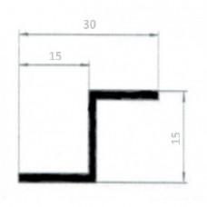 Z-образный профиль 15х15х15х1.5
